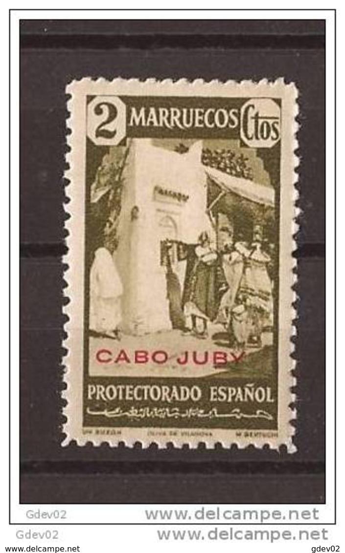 CJ117-LA866TCSC.Maroc Marocco CABO JUBY.Sellos De Marruecos.1940.(Ed 117**) Sin Charnela.LUJO. - Culturas