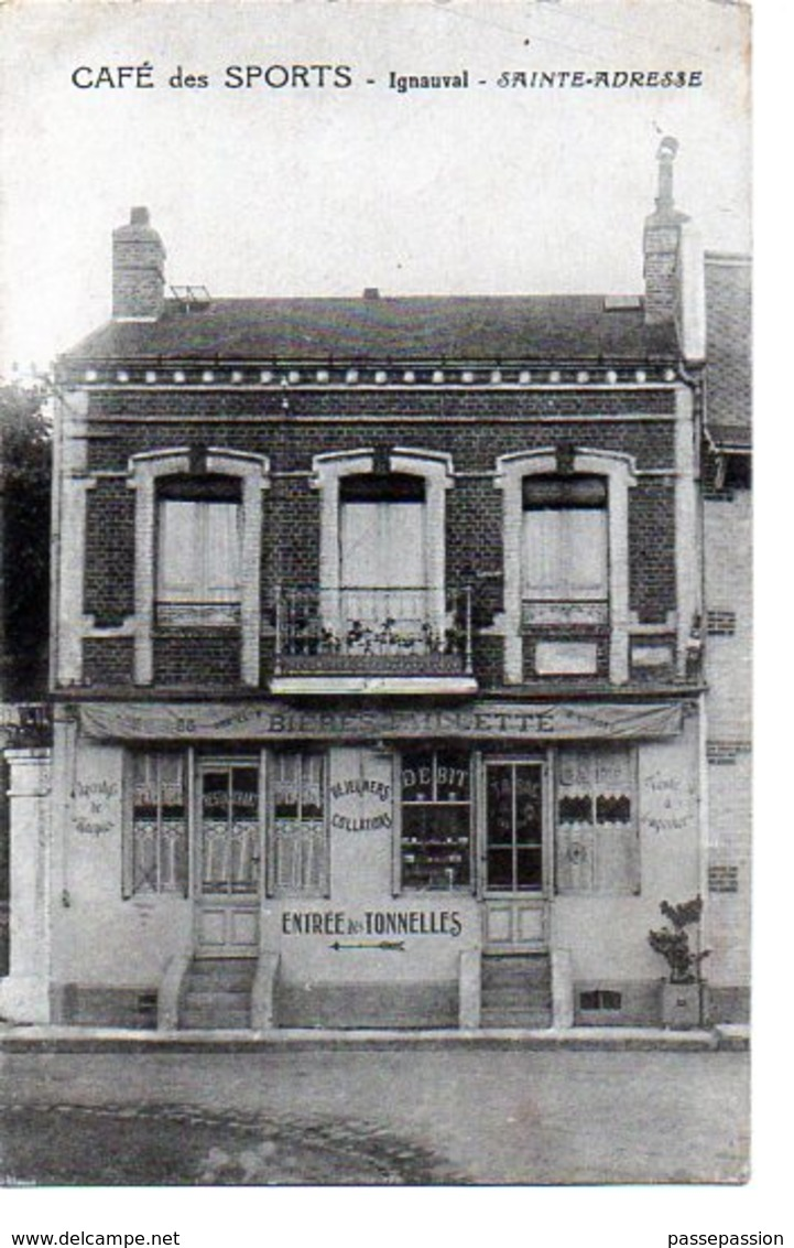 SAINTE-ADRESSE - CAFE DES SPORTS - Ignauval - France