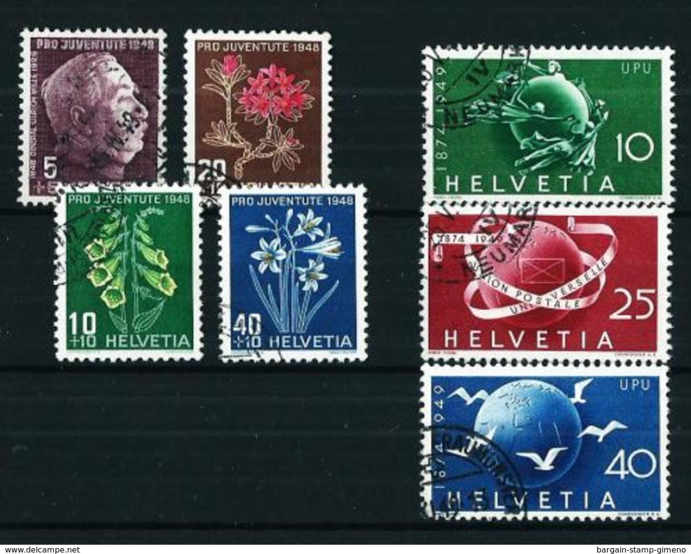 Suiza Nº 467/70-474/6 USADO - Used Stamps