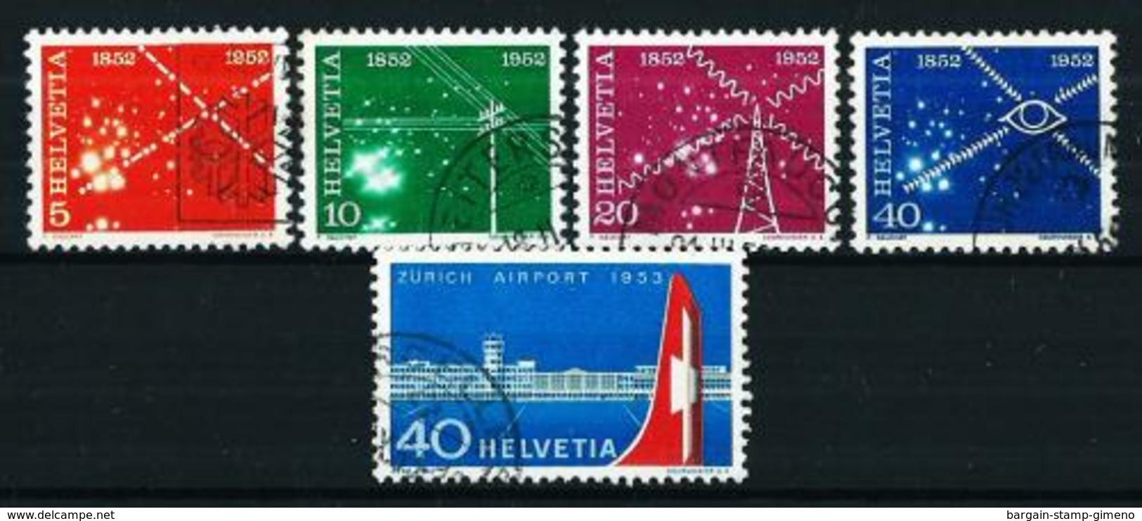 Suiza Nº 517/20-536 USADO - Suiza