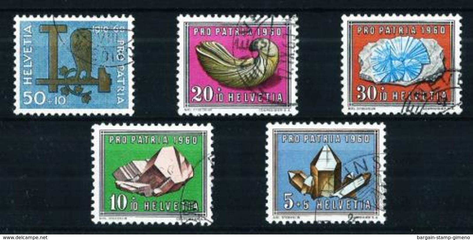 Suiza Nº 661/5 USADO - Used Stamps