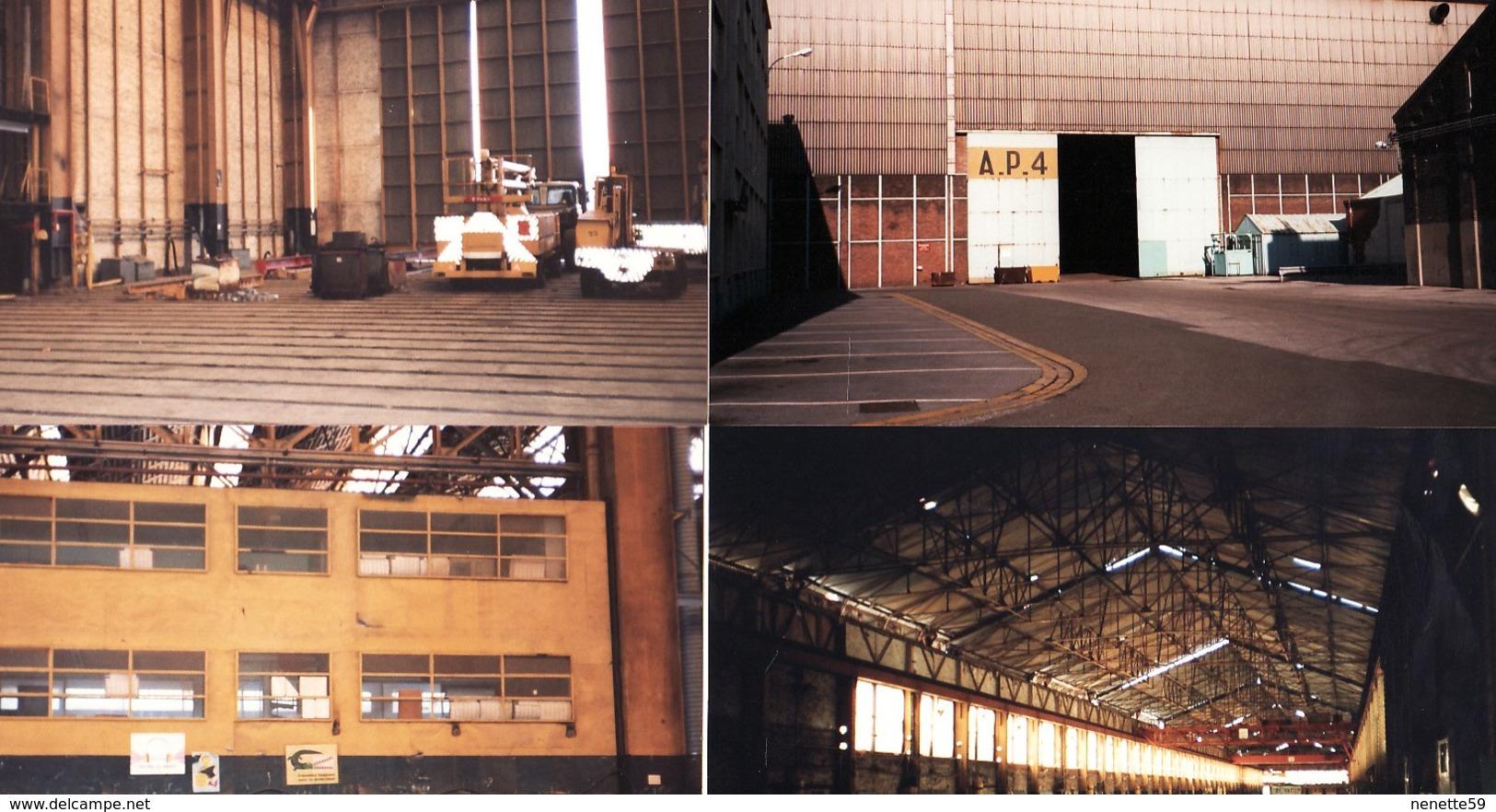 DUNKERQUE -- ACF -- Chantiers De France -- Bâtiments AP3 Et AP4 -- Lot De 20 Photos - Bateaux