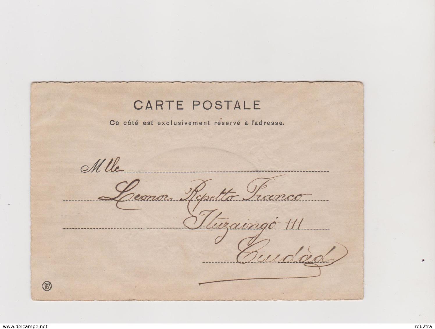 Uruguay , Cartolina In Stile Liberty   - F.p. -  Anni '1900 - Uruguay