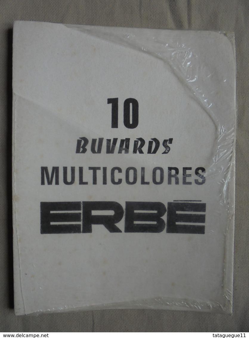 Ancien - Paquet De 10 Buvards Multicolores (reste 6) Années 70 - Other