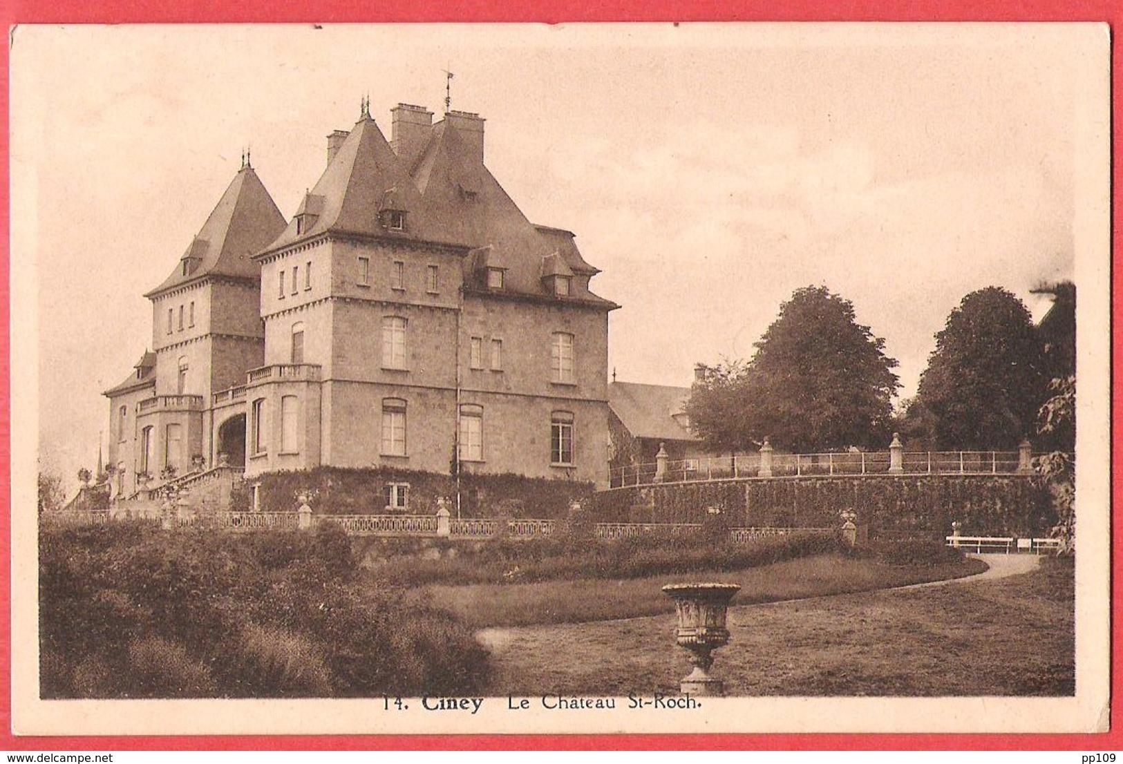 PK CP CINEY Le Château Saint Roch - Ciney