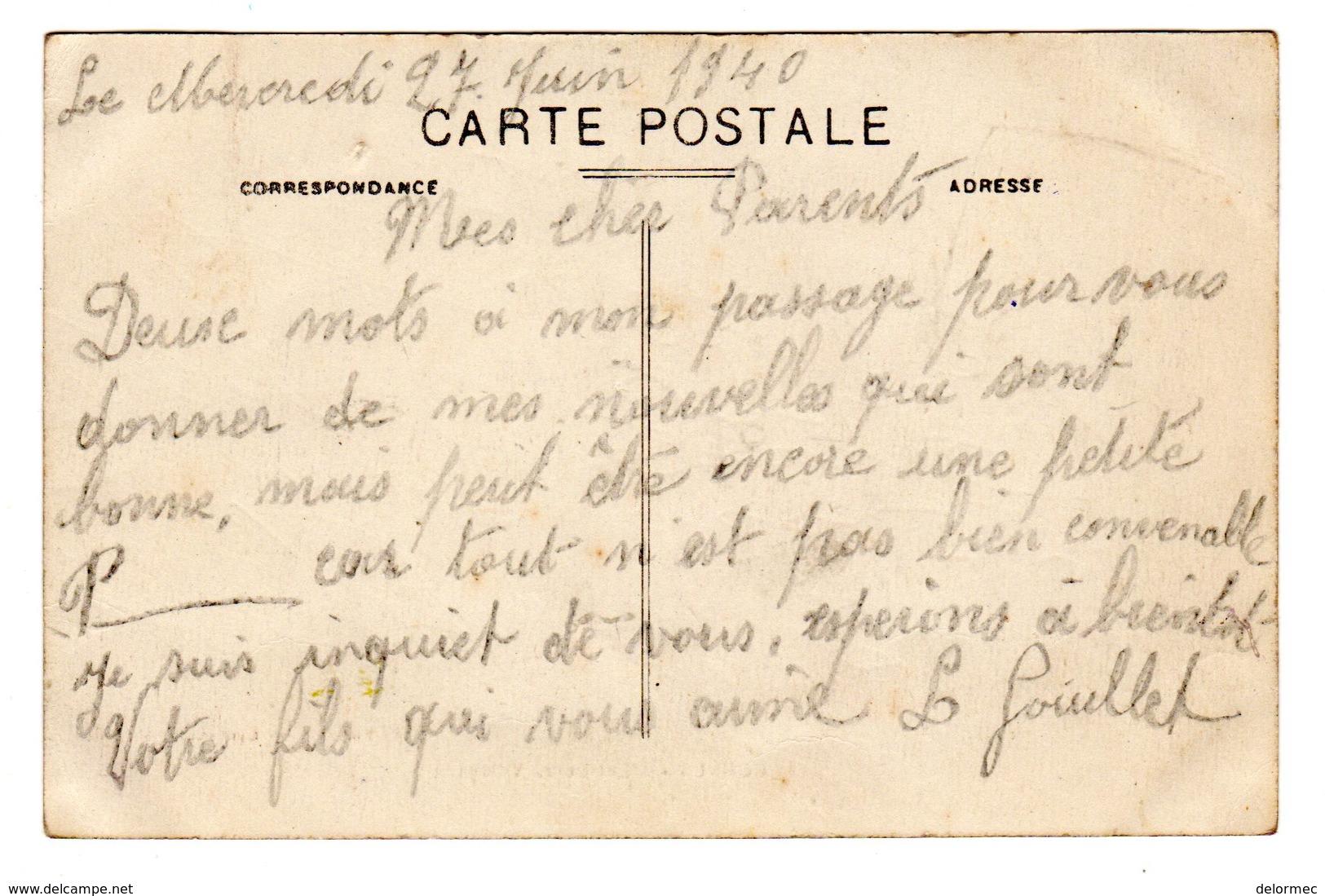 CPSM Cornus Aveyron 12 Entrée Du Village Bœuf En Premier Plan éditeur Ch Lassalle à Millau N°1 - Autres Communes