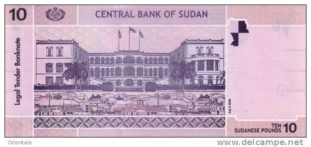 SUDAN P. 67 10 P 2006 UNC - Sudan