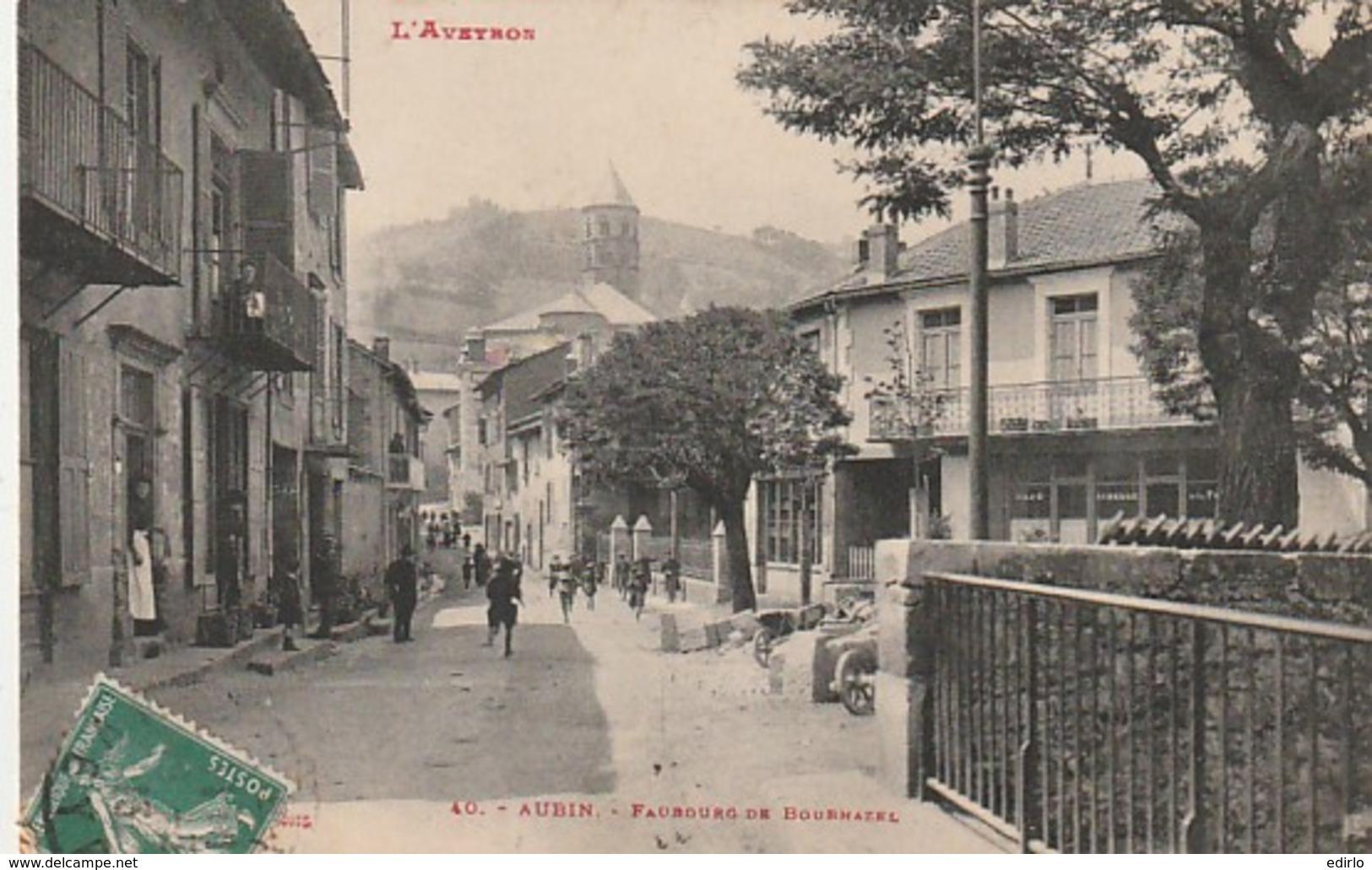 *** 12  ***  AVEYRON  --  AUBIN  Faubourg De Bournazel - TTBE - France