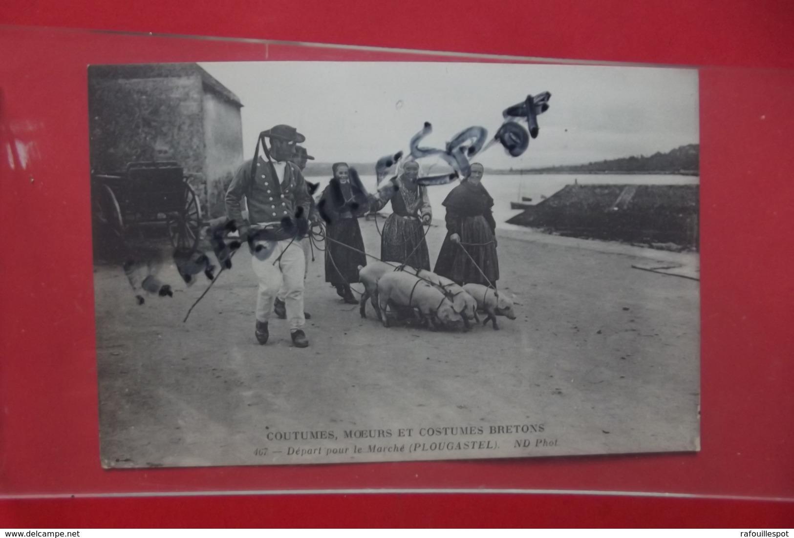 C P Plougastel Depart Pour Le Marché N 467 - Plougastel-Daoulas