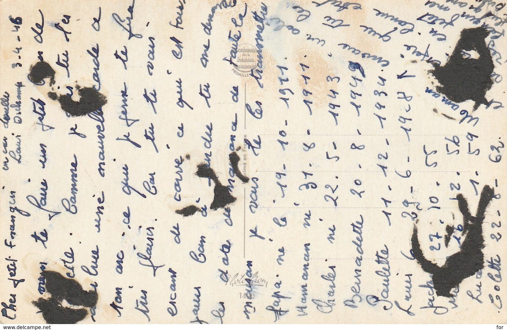 Carrière - Louis : Pin-up : Merci ! Grace à Vous Je N'ai Pas .....N° 30310 - Photochrom - Carrière, Louis