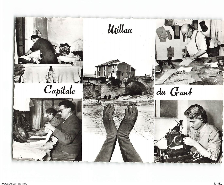 12 Millau Fabrication Du Gant Gants Ganterie CPSM GF Edit Estel N°21024 Photo - Millau
