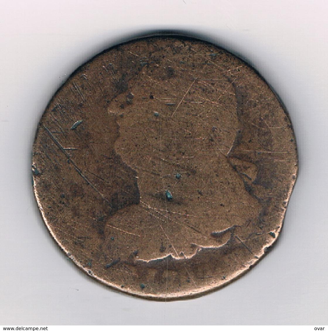 2 SOL 1792 BB  FRANKRIJK /7016/ - 1789-1795 Monnaies Constitutionnelles