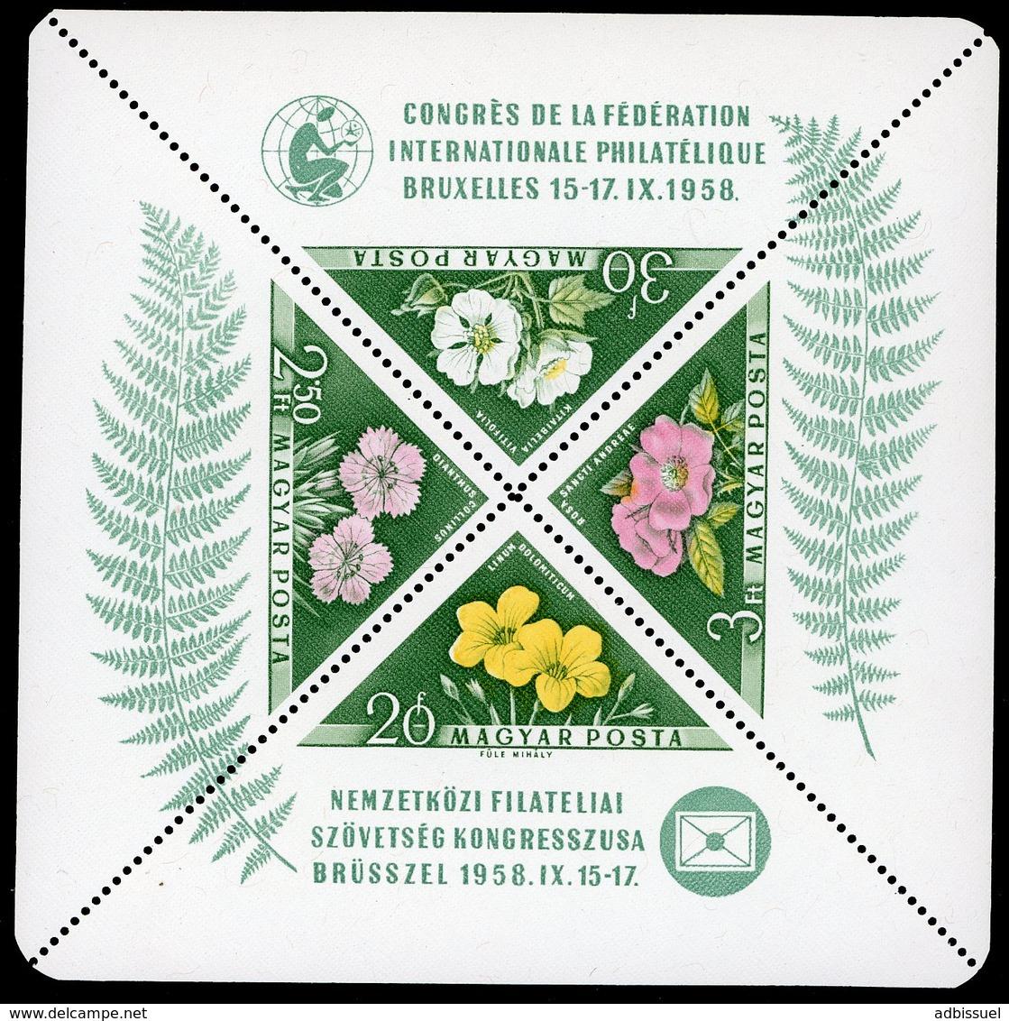1958 Hungary / Magyar / Hongrie. Block BF N° 34 / ** MNH / Catalog Price (cote) 50 € - Blocchi & Foglietti