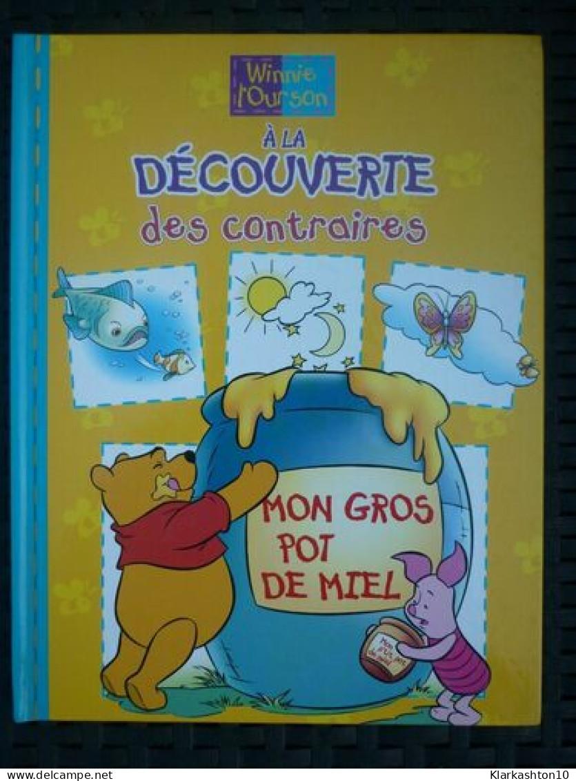 Winnie L'ourson à La Découverte Des Contraires: Mon Gros Pot De Miel/Egmont,2000 - Books, Magazines, Comics