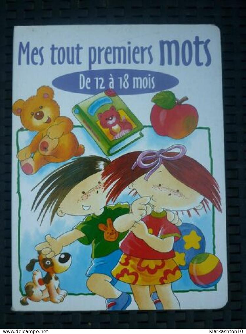 Mes Tout Premiers Mots De 12 à 18 Mois/ Editions Caramel, 2000 - Bücher, Zeitschriften, Comics