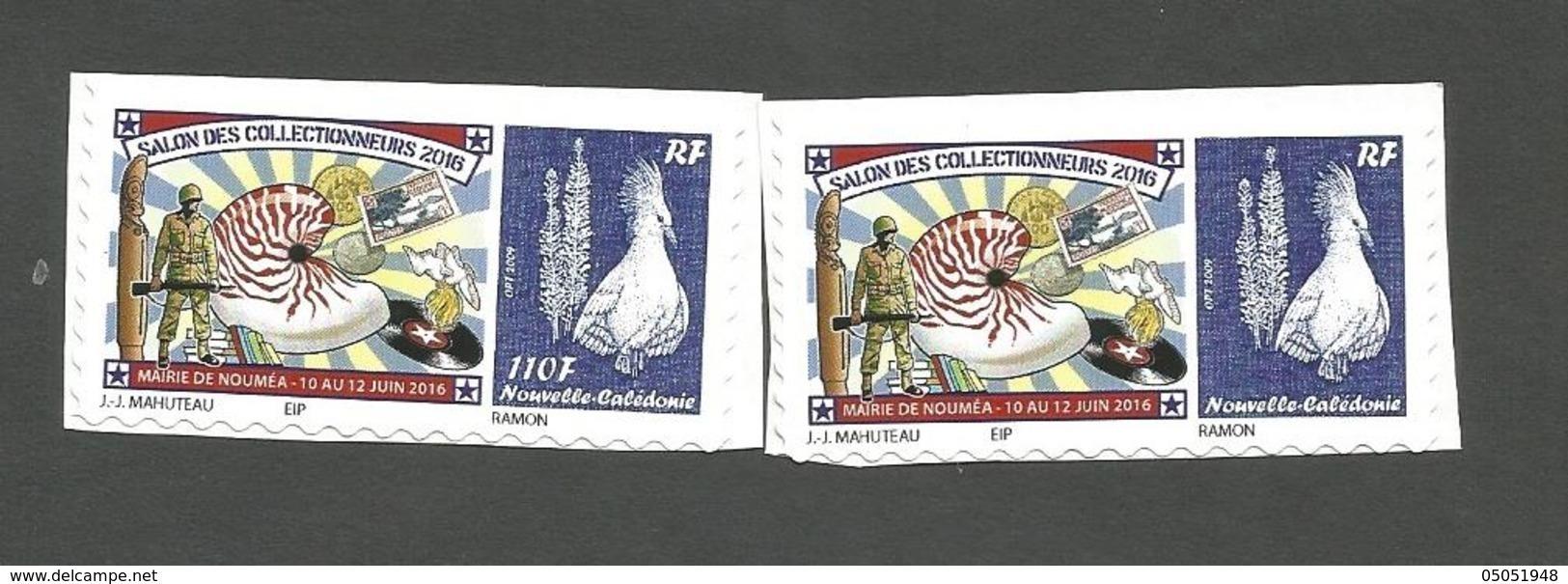 Variété  110f   Avec Le Normal    Salon Des Collectionneurs     (pag8G) - Nueva Caledonia