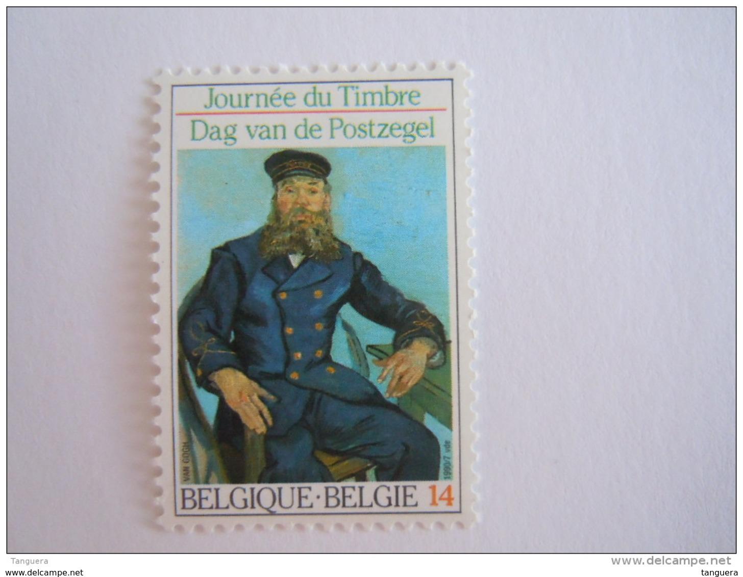 België Belgique 1990 Postbode,facteur Roulin Journée Du Timbre COB Yv 2365 MNH ** - Stamp's Day