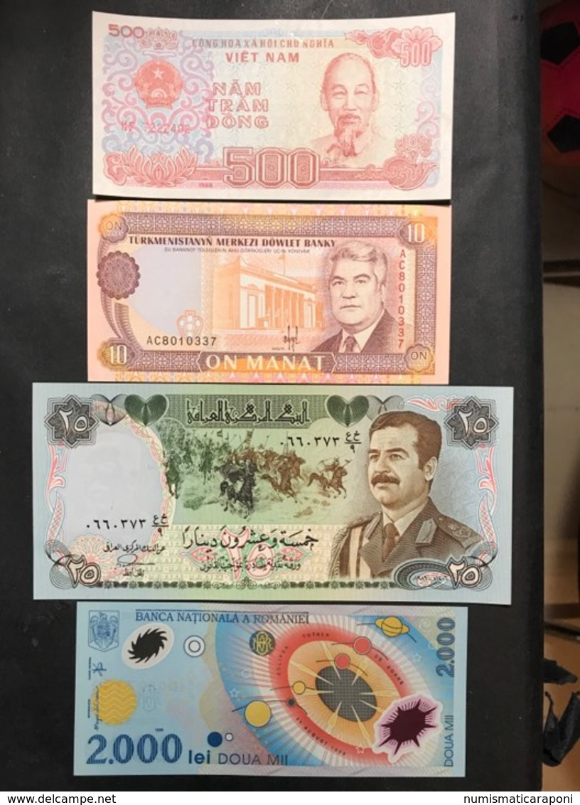 12 Banconote Mondiali  LOTTO 627 - Banknotes
