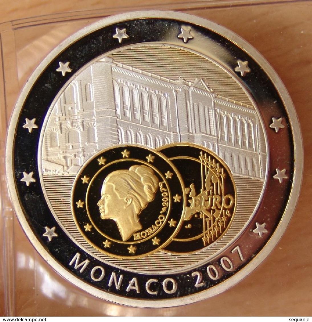 Médaille - MONACO 2007 Grace Kelly Europa 2007 - Professionnels / De Société
