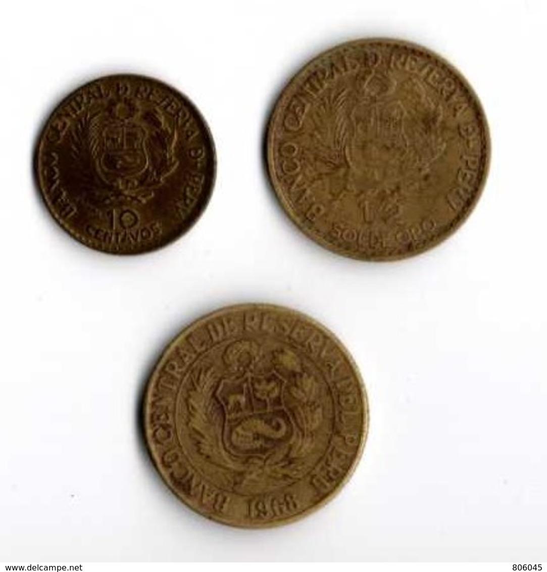 Pérou 1/2 Sol 10 Centavos - Pérou