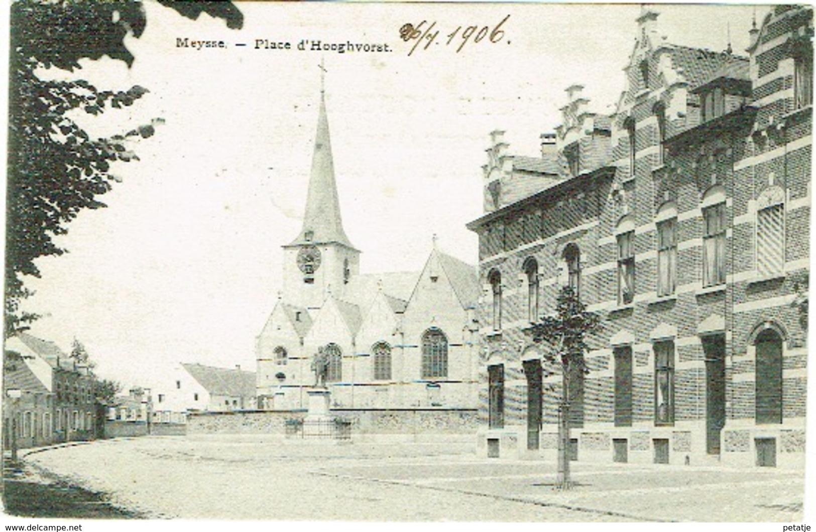 Meysse , Place D'Hoogvorst - Meise