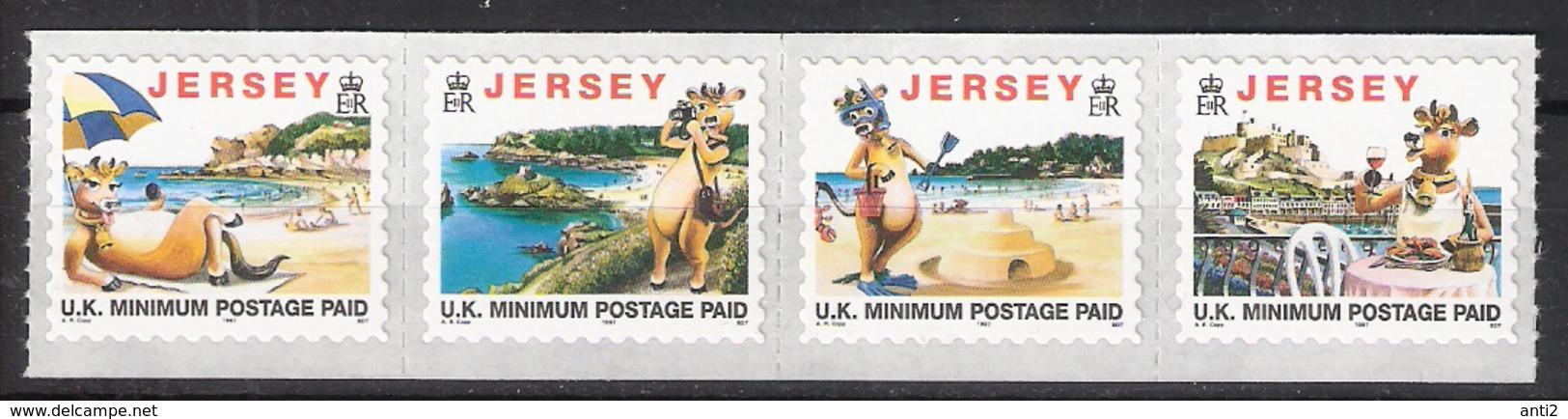 Jersey 1997 Tourism. Mi 773-776, MNH(**) - Jersey