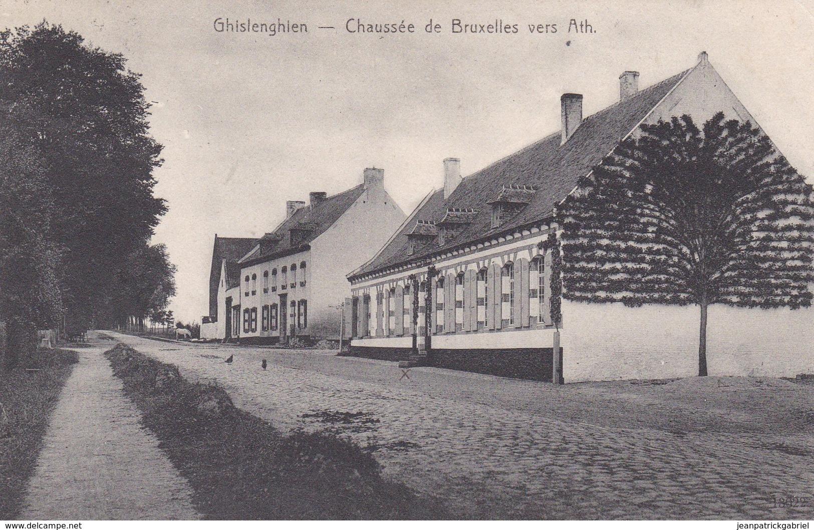 619 Ghislenghien Chaussee De Bruxelles Vers Ath - Autres