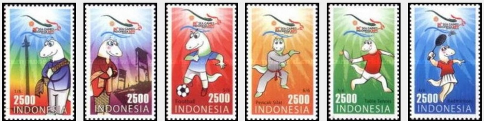 376Indonesia 2011 Asian Games - Indonesia