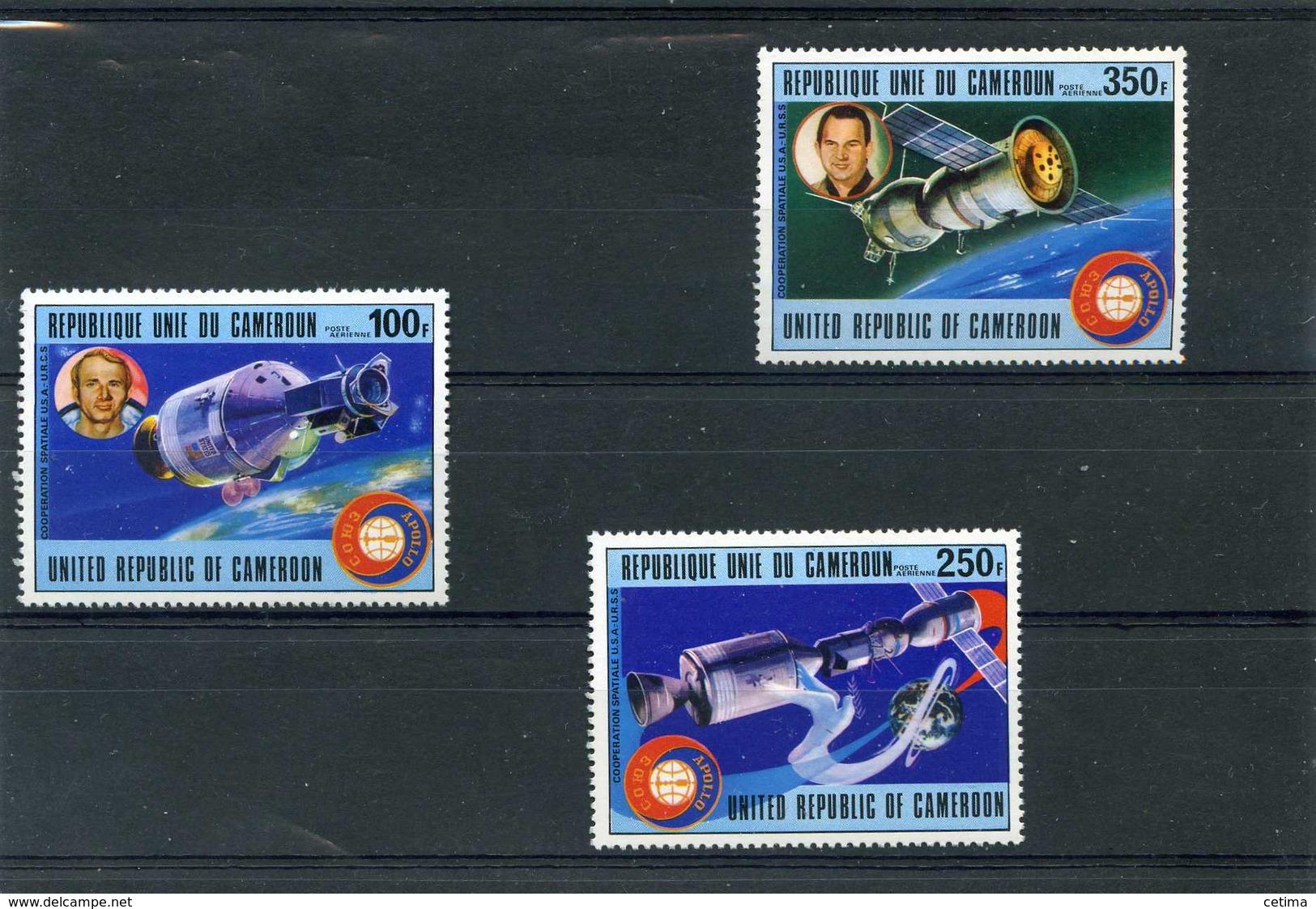 Cameroun - Coopération Spatiale U S A - U R S  S .sujets Divers - Neufs - Camerun (1960-...)