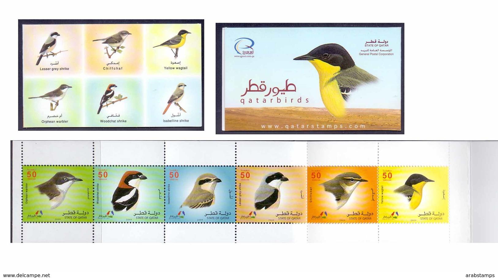 2009 QATAR Birds Booklet MNH - Qatar