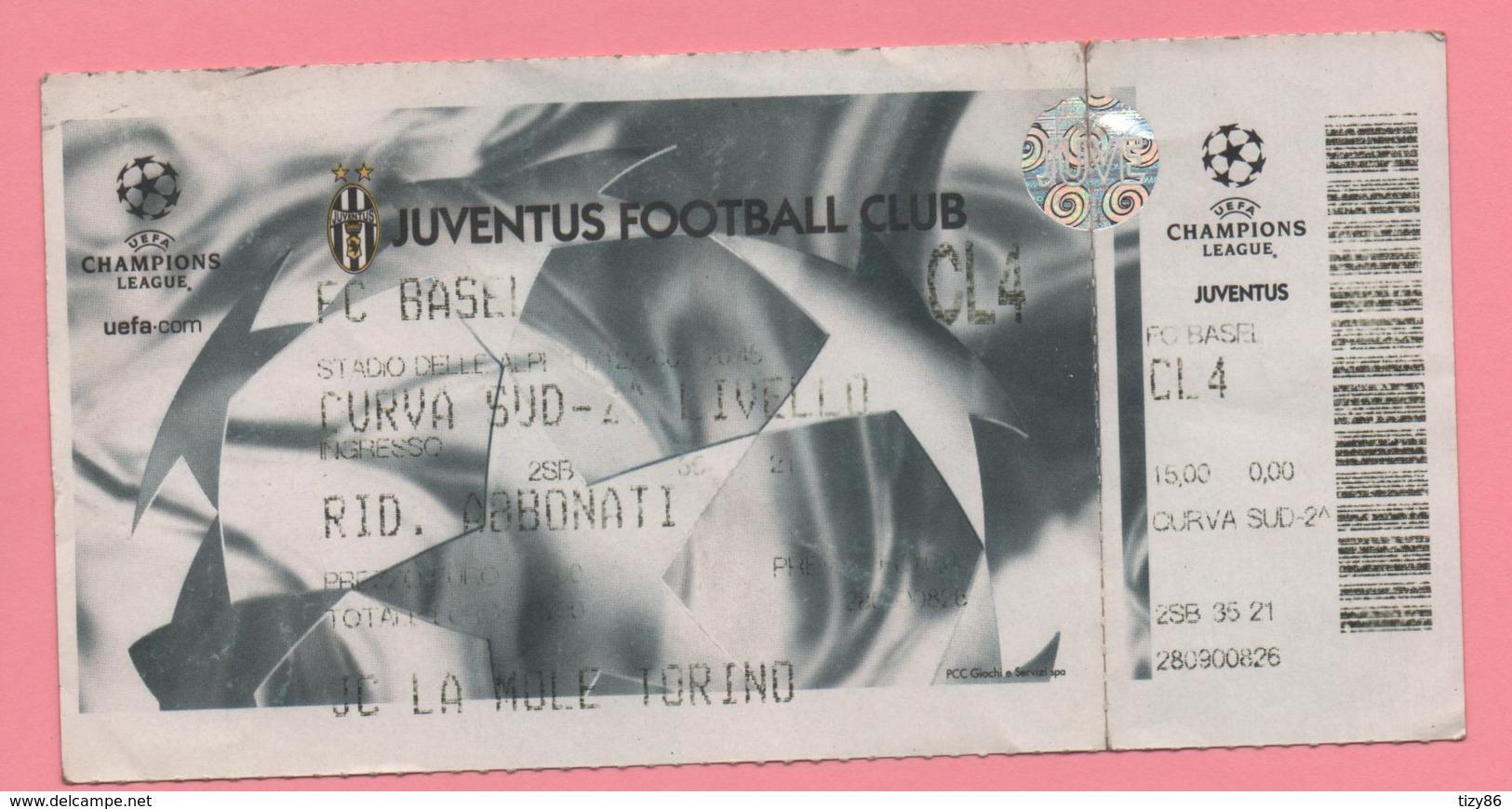 Biglietto Ingresso Stadio Juventus - Tickets - Vouchers