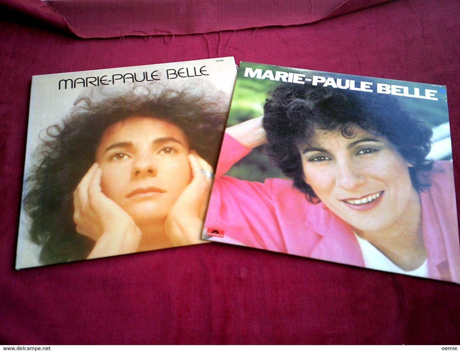 MARIE  PAULE  BELLE  °° COLLECTION DE 7 / VINYLES 33 TOURS - Vollständige Sammlungen