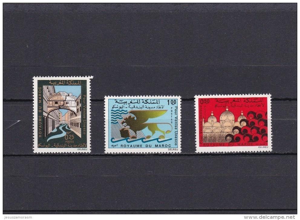 Marruecos Nº 631 Al 633 - Marruecos (1956-...)