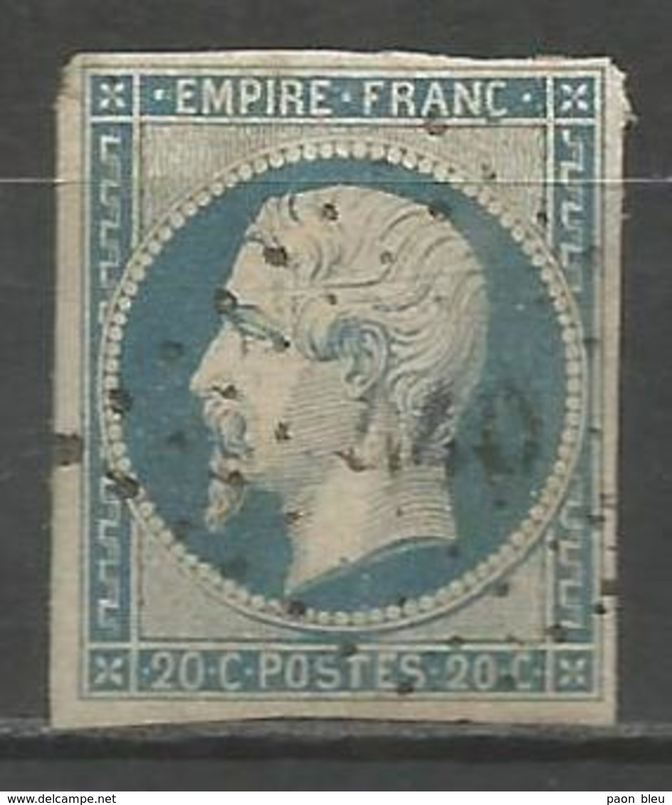 FRANCE - Oblitération Petits Chiffres LP 440 BORAN (Oise) - 1849-1876: Klassieke Periode