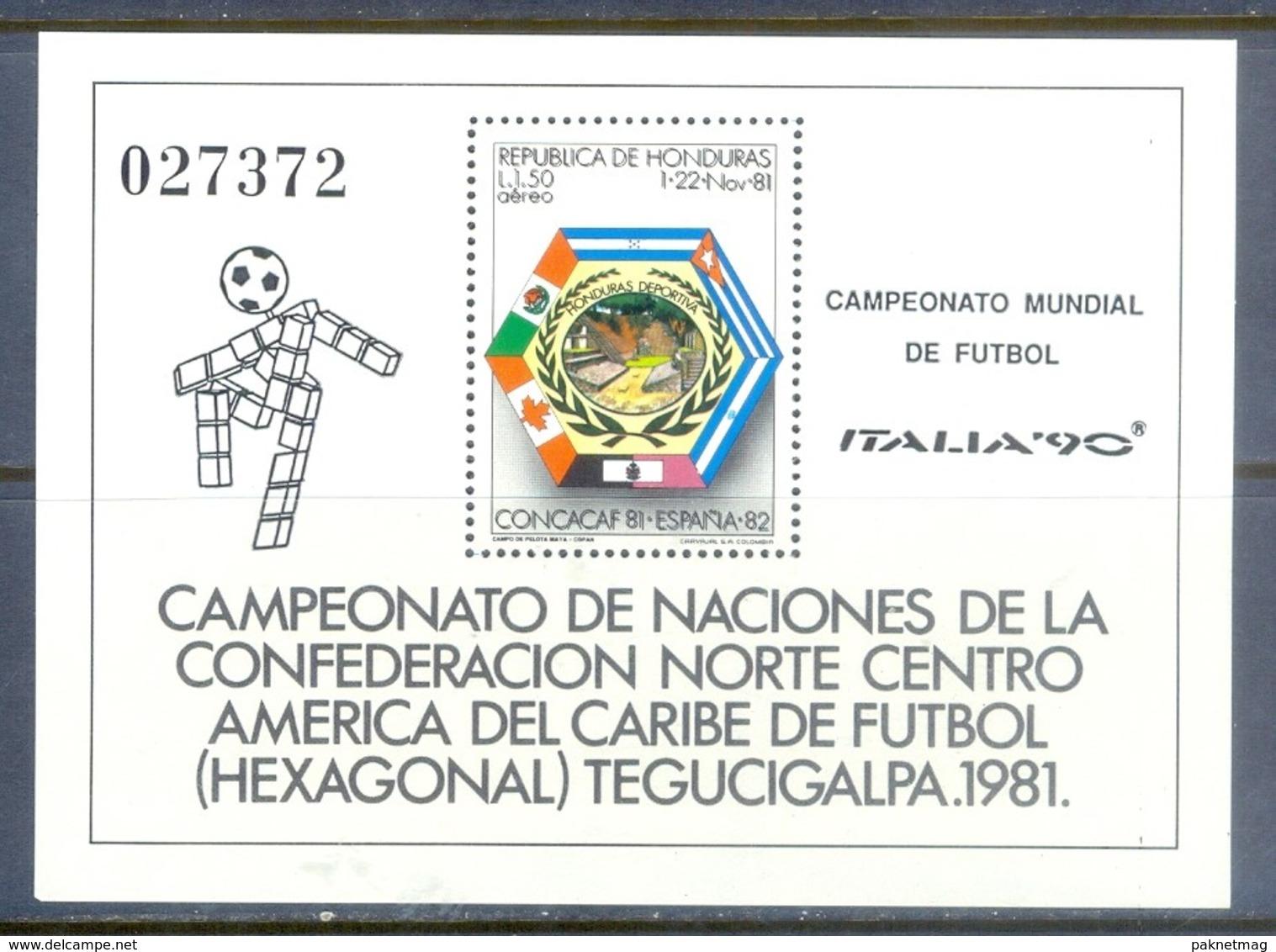 G99- Honduras 1990 Football Soccer World Cup. - Honduras