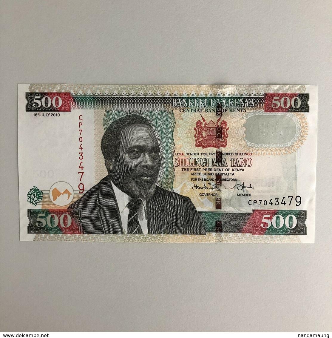 Kenya 500 Shillings Banknote (Dated 16th July 2010) UNC - Kenia