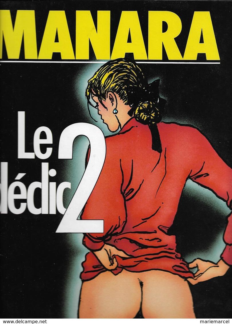 MANARA - LOT DE 3 BD - LE DECLIC - LE DECLIC 2 - LE DECLIC 3 - L'ECHO DES SAVANES/ALBIN MICHEL - Erotic (Adult)