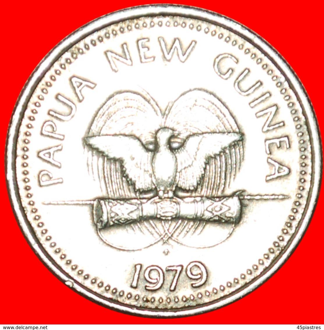 + USA TURTLE: PAPUA NEW GUINEA ★ 5 TOEA 1979FM UNCOMMON! LOW START ★ NO RESERVE! - Papoea-Nieuw-Guinea