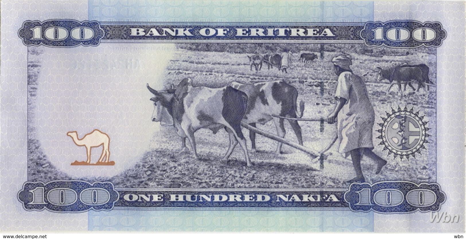 Erythrée 100 Nakfa (P8) 2004 (Pref: AH) -UNC- - Eritrea