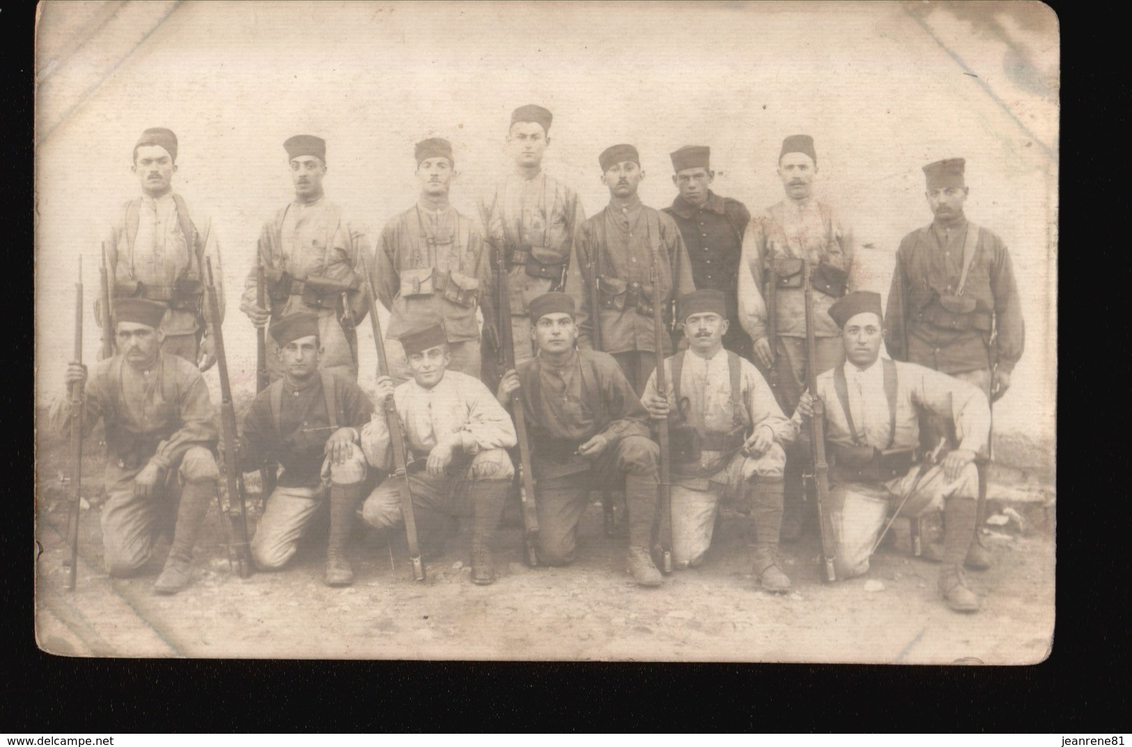 LOT589.....SELECTION 5 CPA MILITAIRES - 5 - 99 Cartes