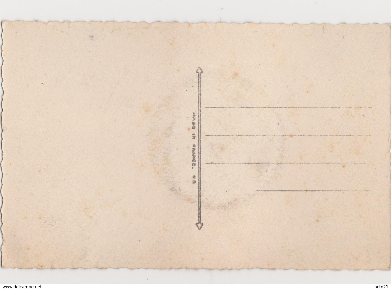 4 Cartes Fantaisie  / En Souvenir Des Douces Heures écoulées / Photo D'un Couple Dans Le Cadran D'une Montre - Couples