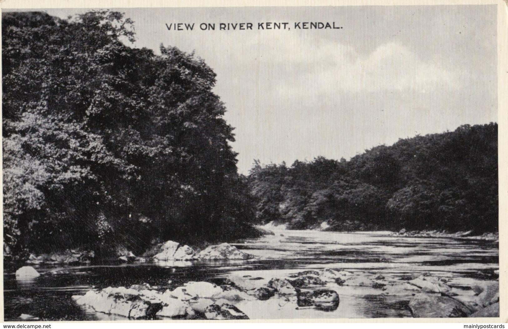 AL66 View On River Kent, Kendal - Cumberland/ Westmorland