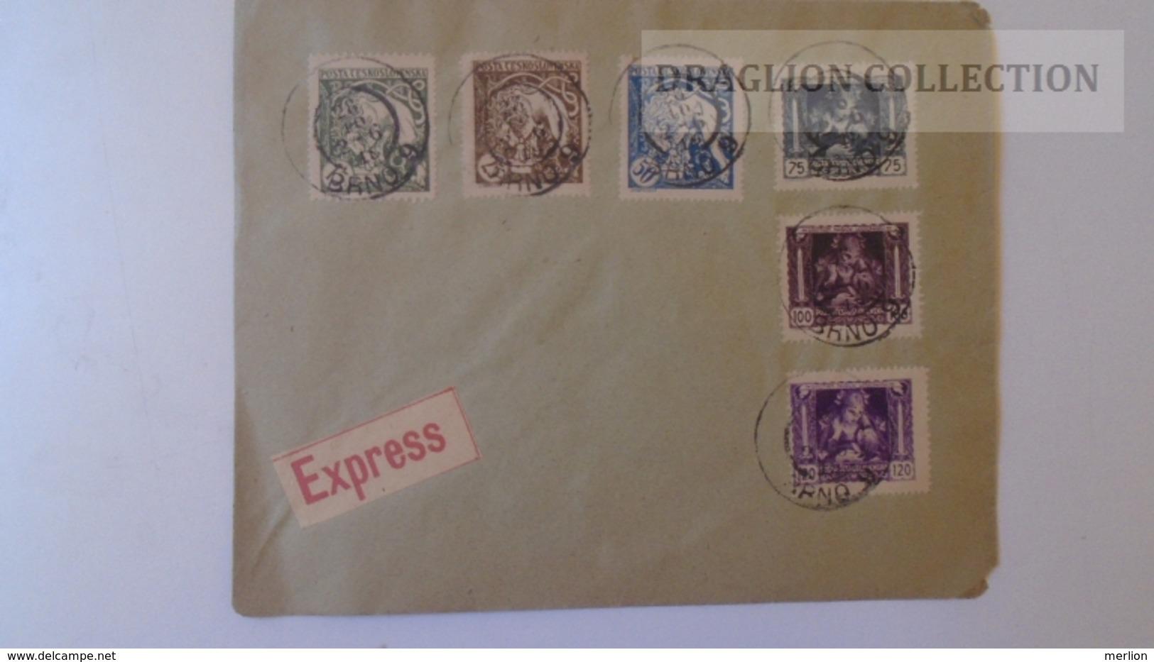 ZA222.16 Ceskoslovakia - BRNO  Cover  Express 1919? - Tschechoslowakei/CSSR