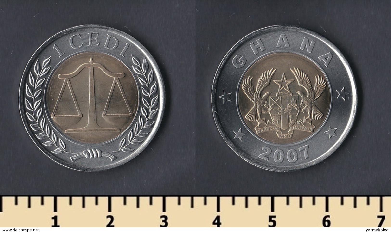 Ghana 1 Cedi 2007 - Ghana