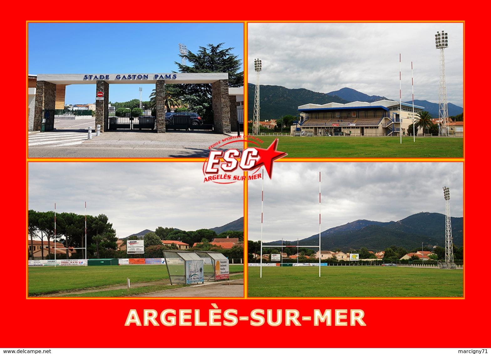 ARGELES SUR MER Stade Gaston Pams Stadium Estadio - Argeles Sur Mer