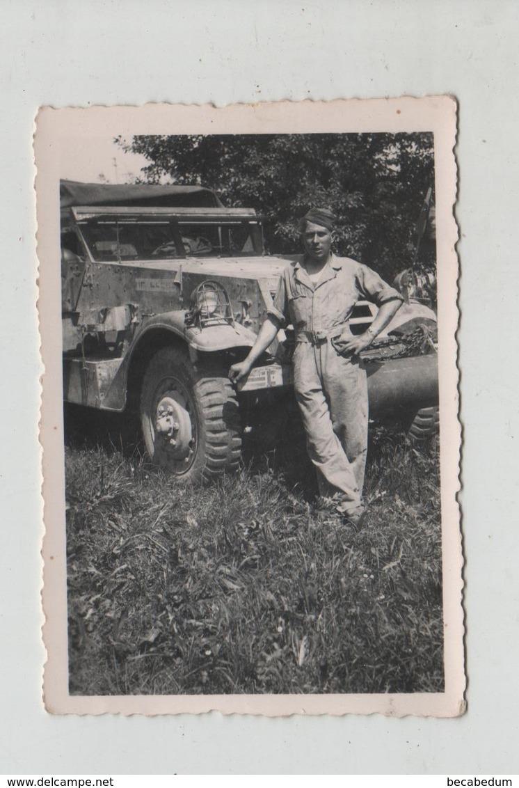 Photo Originale Véhicule DB 1945 à Identifier - Krieg, Militär