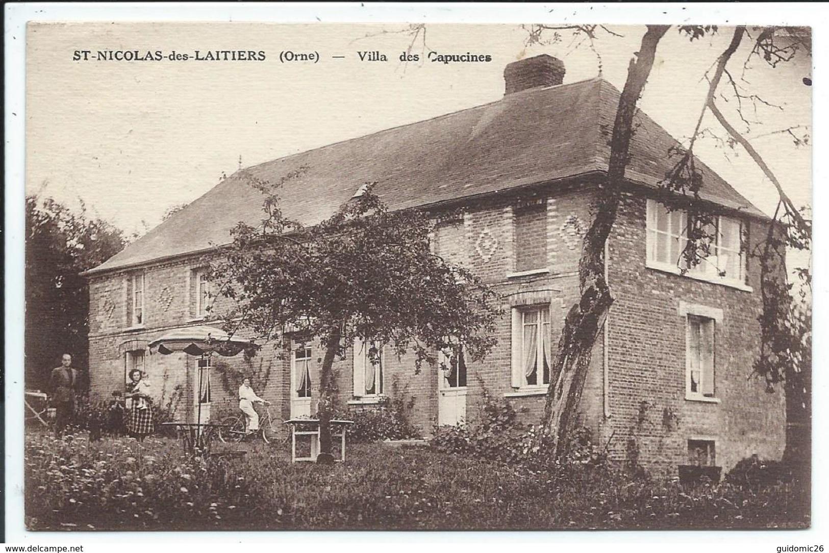 Saint Nicolas Des Laitiers ,prix Revu , Villa Des Capucins ,st - France