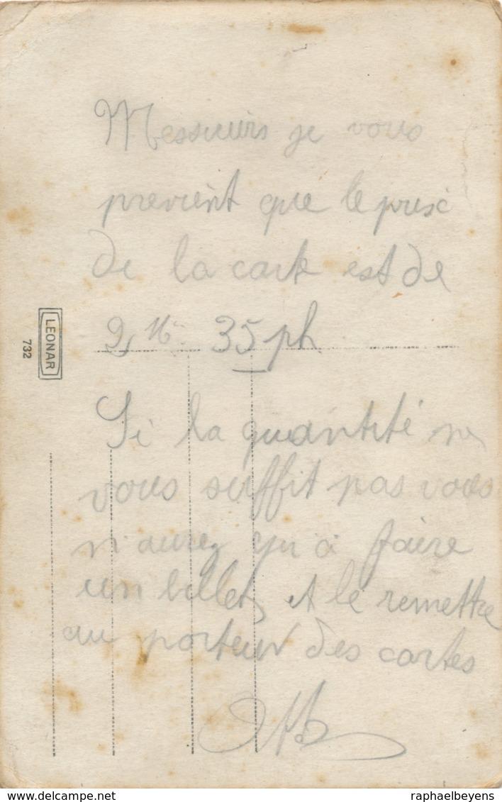 Photo-carte Groupe Soldats Artillerie 274è Régiment Avec Chevaux Charrettes - War, Military