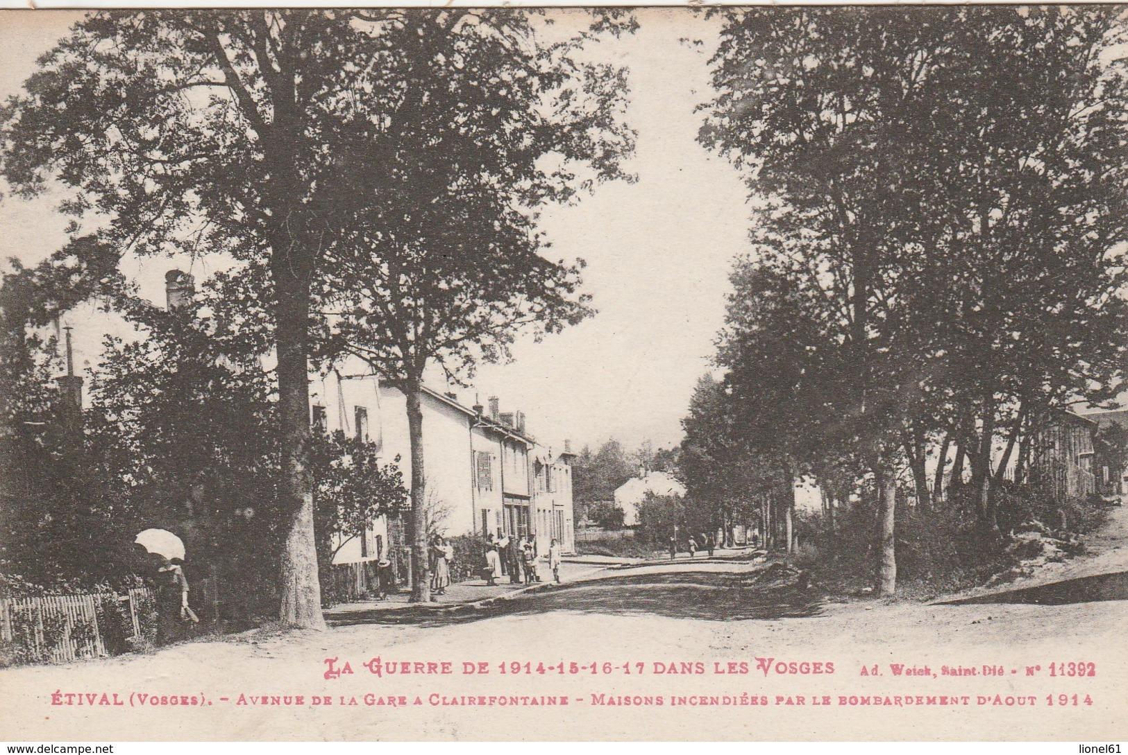 ETIVAL : (88) Avenue De La Gare à Clairefontaine ............................... - Etival Clairefontaine