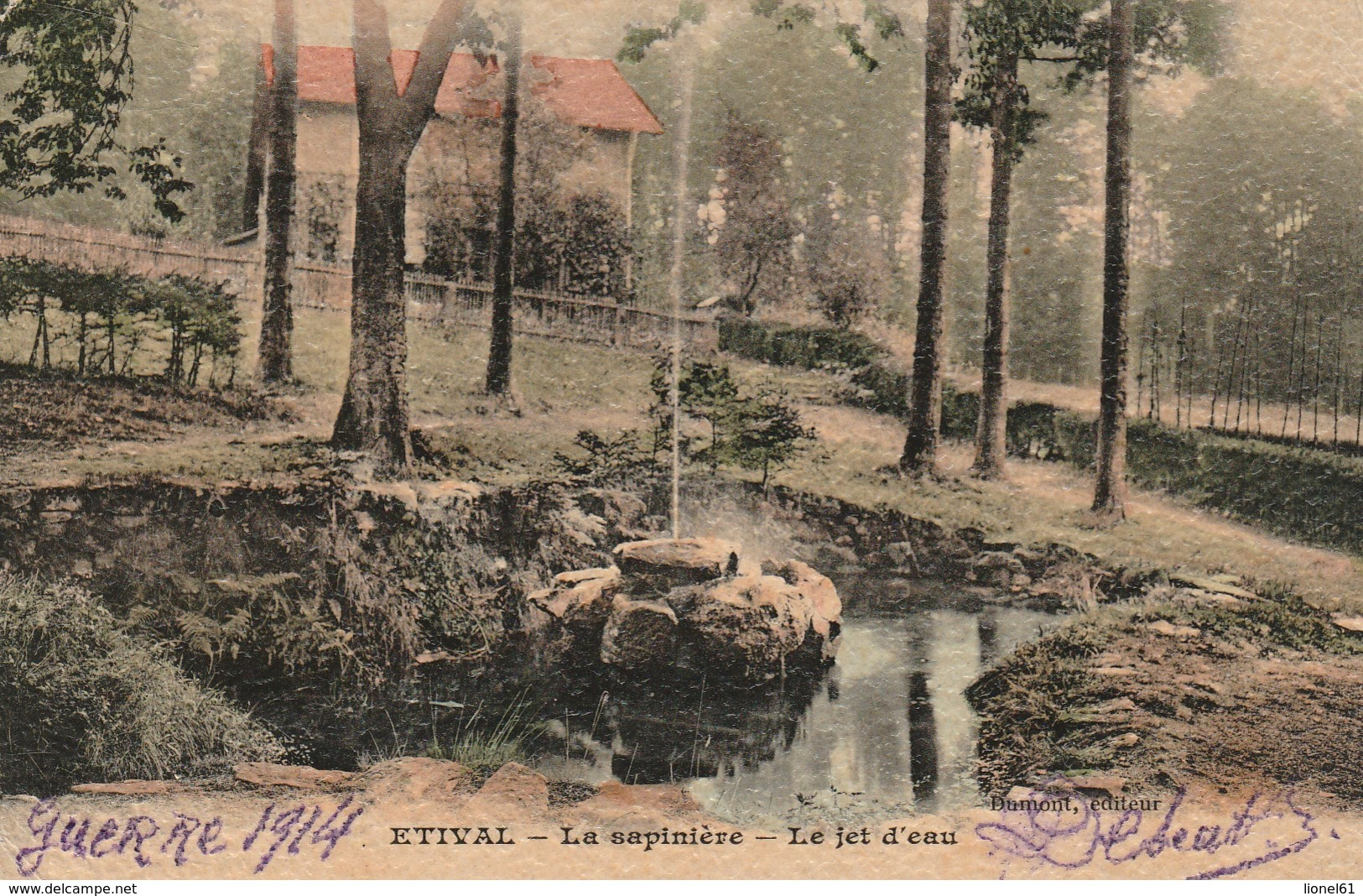 ETIVAL : (88) La Sapinière Le Jet D'eau - Etival Clairefontaine
